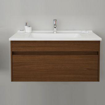 VitrA S50 100cm 1 Drawer Vanity