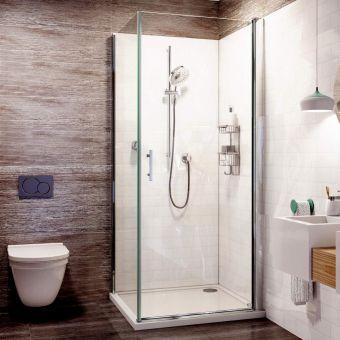 Matki Radiance Pivot Shower Enclosure Uk Bathrooms