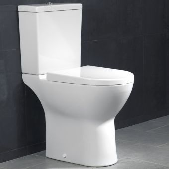 VitrA S50 Raised Height Close Coupled WC - 54220035325