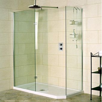 Roman Decem Walk-In Shower Enclosure