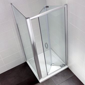 April Identiti Bifold Door Shower Enclosure