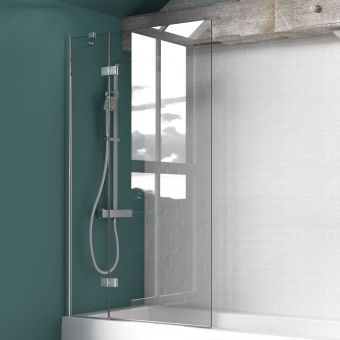 Kudos Inspire 2 Panel In-Swing Bath Screen