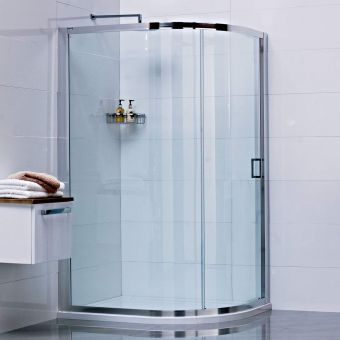 Roman Lumin8 Single Door Quadrant Shower Enclosure