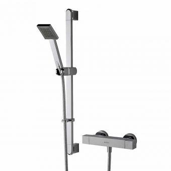 Bristan Quadrato Exposed Bar Shower with Kit - QD SHXSMFF C