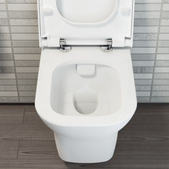 VitrA Nest Rimless Wall Hung Toilet