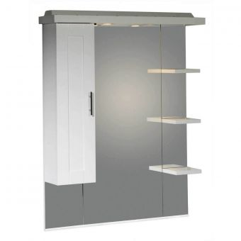 Roper Rhodes Valencia 700mm Mirror With Light Canopy Uk