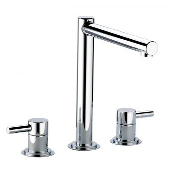 Swadling  Absolute Tall Deck Mounted Basin Mixer Tap