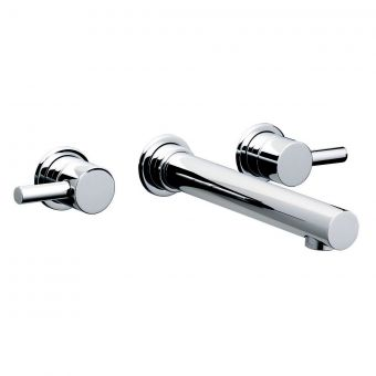 Swadling  Absolute Wall Mounted Basin Mixer Taps