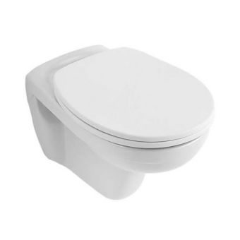 Villeroy & Boch O.Novo 360x530mm Wall Hung Toilet with Standard Seat