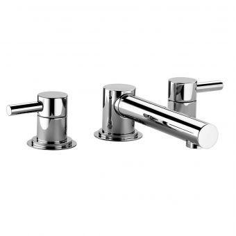 Swadling  Absolute 3 Hole Deck Mounted Bath Taps