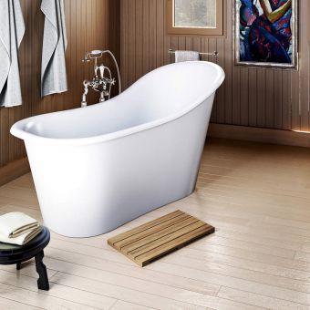 Burlington Emperor Freestanding Slipper Bath - ET13B