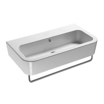 Saneux Jones 750x440mm Basin - 0 Tap Hole