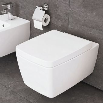 Vitra M-Line Rimless Wall Hung Toilet with Soft Close Seat