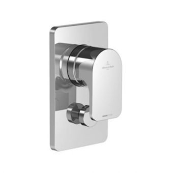 Villeroy & Boch Cult Manual Bath Shower Valve with Diverter