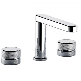 Swadling Engineer 3 Hole Basin Mixer Tap
