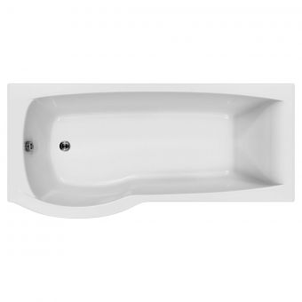 Carron Delta P Shaped Shower Bath