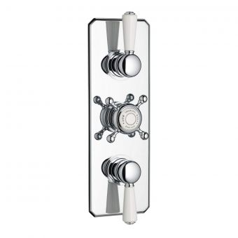 Swadling Invincible Double Outlet Thermostatic Shower Mixer - 7200CP