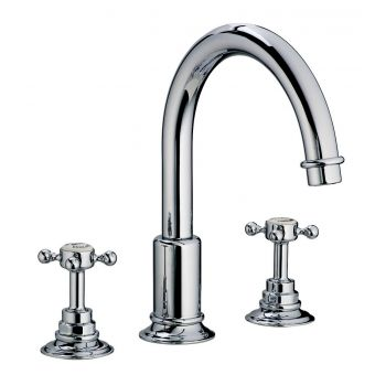 Swadling Invincible Swan Neck Basin Mixer Tap