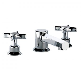 Swadling Illustrious 3 Hole Basin Mixer Tap