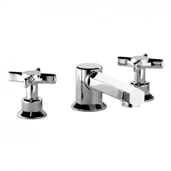 Swadling Illustrious 3 Hole Deck Mounted Bath Mixer