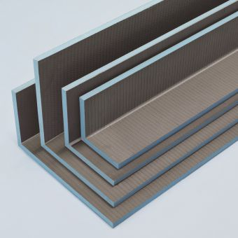 wedi Mensolo L Angled Units Pipe Cover