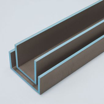 wedi Mensolo U Angled Units Pipe Cover
