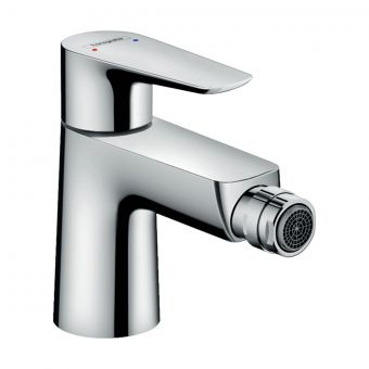 Hansgrohe Talis E Single Lever Bidet Mixer Tap with Waste
