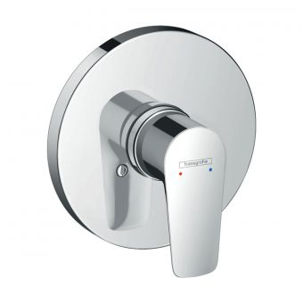 hansgrohe Talis E Concealed Round Manual Shower Mixer