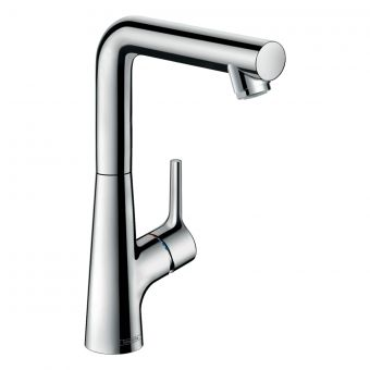 hansgrohe Talis S Basin Mixer 210 with Swivel Spout and Pop-up Waste