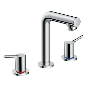 hansgrohe Talis S 3-hole Basin Mixer 150 with Pop-up Waste