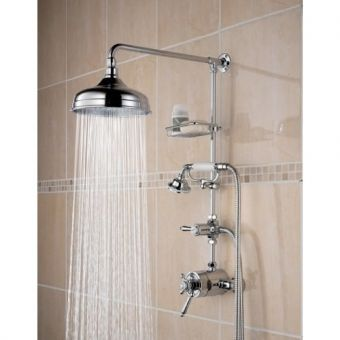 Bristan Trinity Thermostatic Exposed Shower Set