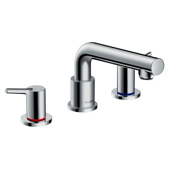 Hansgrohe Talis S 3 Hole Deck Mounted Bath Mixer Tap