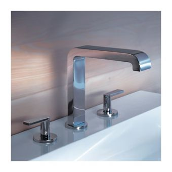 Keuco Edition 300 3 Hole Basin Mixer Set