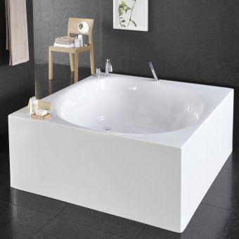 VitrA Liquid Space Square Freestanding Bath - 54340001000