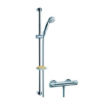 Hansgrohe Croma Exposed Ecostat Shower Set