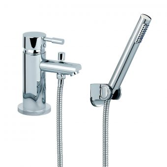 Mayfair F Series 1 Hole Bath Shower Mixer with Handset