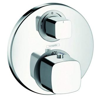 Hasngrohe Metris Thermostatic Shower Valve with Diverter