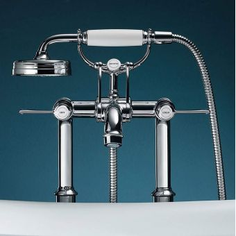 CHK Axor Montreux Floor Standing Bath and Shower Mixer