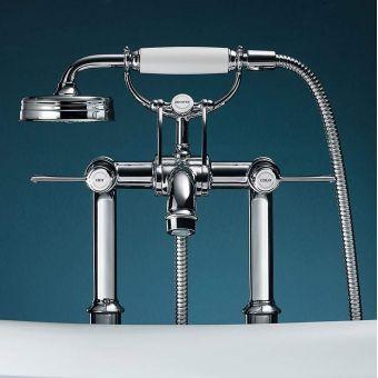 AXOR Montreux Floor Standing Bath Shower Mixer Tap - 16547000