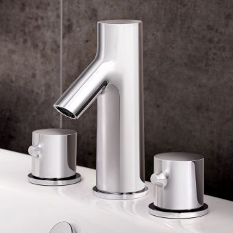 VitrA Nest 3 Hole Basin Mixer Tap