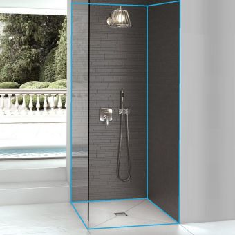 wedi Bathroom Pack A Classic Solution 900 x 900mm