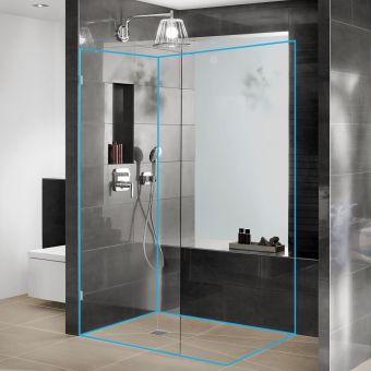 wedi Bathroom Pack C Wooden Floor Solution 900 x 1200mm