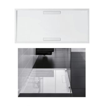 Villeroy & Boch Squaro 1400x900mm Super Flat Shower Tray