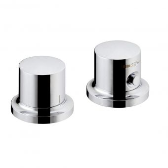 AXOR Massaud Deck Mounted Thermostatic Bath Mixer Tap