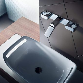 AXOR Urquiola Wall Mounted Basin Mixer