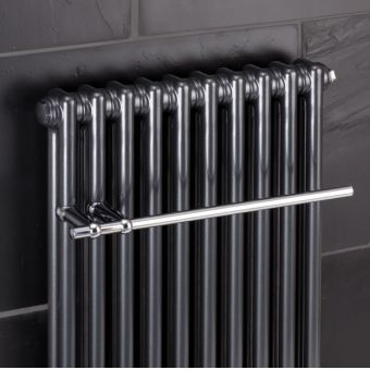 Bisque Classic CTR55 Towel Rail - Chrome