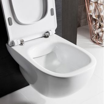 Crosswater Wild Rimless Wall Hung Toilet with Seat