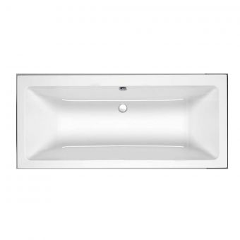 Roca The Gap 1700x750mm Double Ended Bath