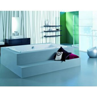 Adamsez Signa Grande Large Inset Double Ended Bath