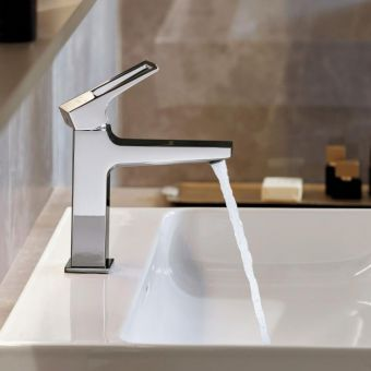 Hansgrohe Metropol 100 Small Basin Mixer with Loop Handle